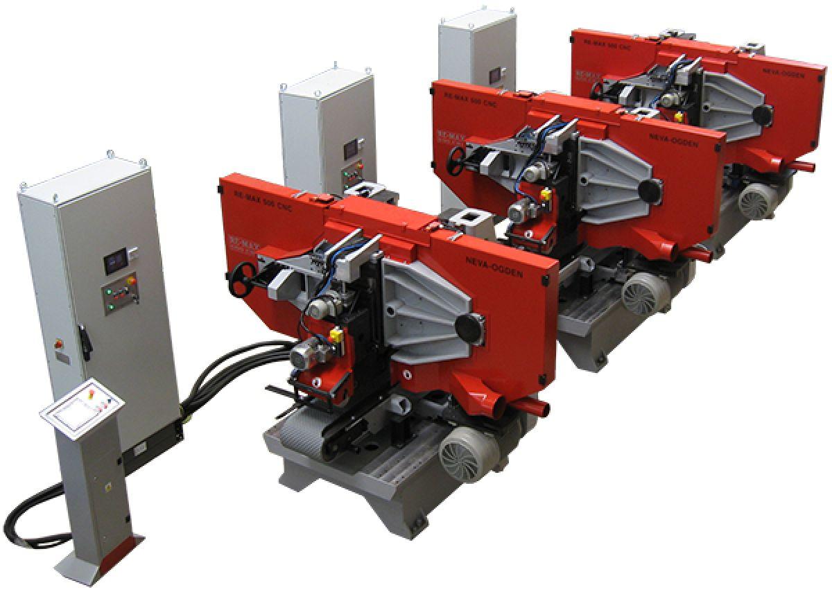 Tračna žaga NEVA RE MAX 500 CNC - linija