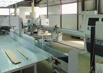 Linija za proizvodnjo lamel