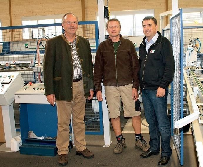 Proizvodnja masivnih lesenih plošč kot oprema za prihodnost