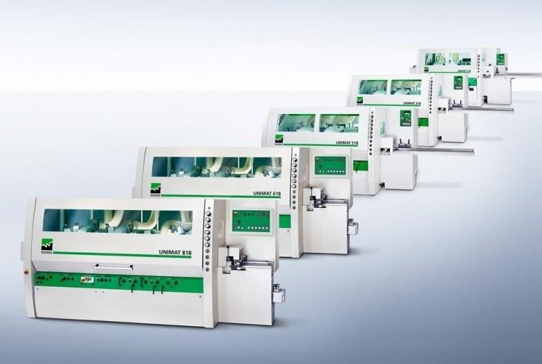 Nova serija Weinigovih štiristranskih skobeljnih strojev Uniline po atraktivni ceni