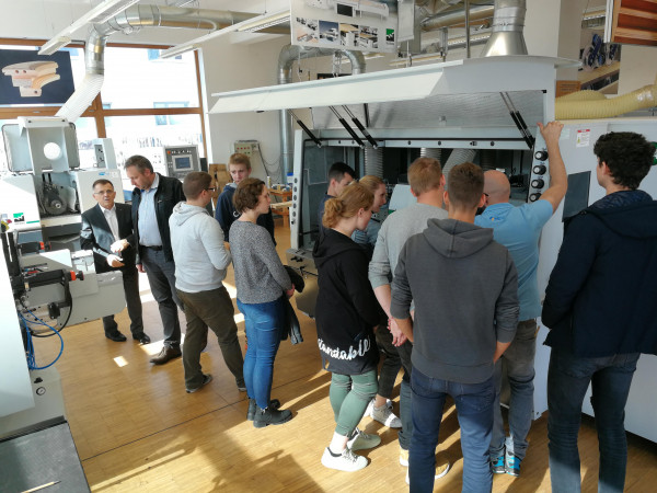 Predstavitev strojev za obdelavo lesa Weinig v živo