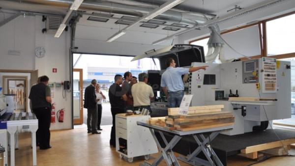 Hišni sejem Intercet - stik s sodobno lesnoobdelovalno tehnologijo