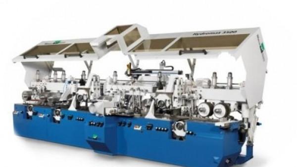 Veliko povpraševanje po Weinig High-End-skobeljnih strojih