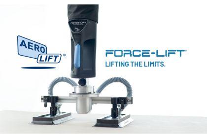 Aero-Lift z novim tehnološkim mejnikom vakuumskega dviganja FORCE-LIFT