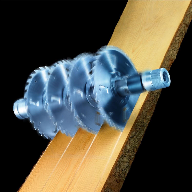 Večlistne krožne žage Weinig: popolna kombinacija kakovosti in inovacij