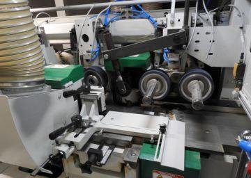 Skobeljni stroj nove generacije Powermat v podjetju Doors