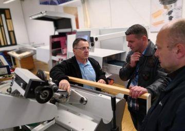Hišni sejem INTERCET - stroji za obdelavo in predelavo masivnega lesa