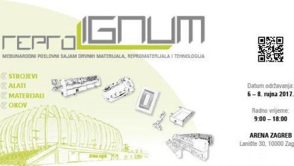Obiščite nas na sejmu Reprolignum v Zagrebu