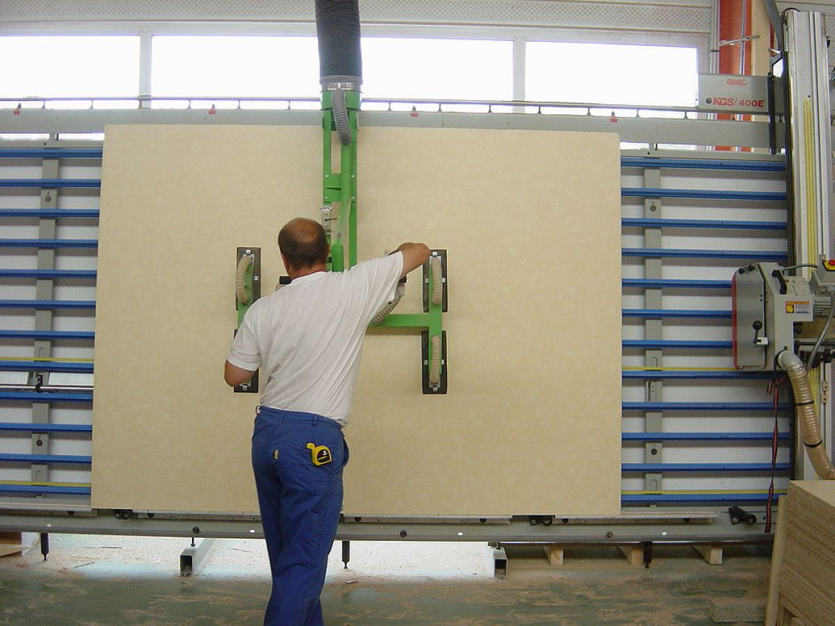 Aero-lift vakuumska prijemala za les in pohištveno industrijo