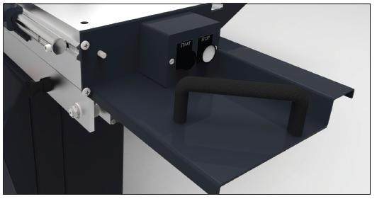 Upravljanje glavnega motorja na drsni mizi