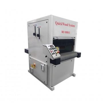 Stroji za ščetkanje kuhinjskih front Quickwood Model RO 800/1T Vacuum