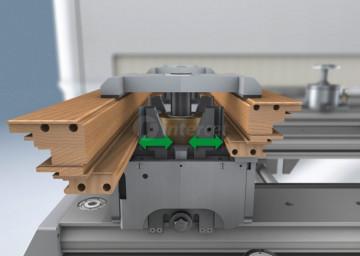 Vpenjalni sistem VarioGrip razpolaga tudi z avtomatsko U-osjo.